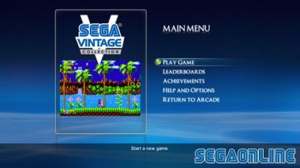 SEGA Vintage Collection: XBLA: Sonic the Hedgehog: High Speed