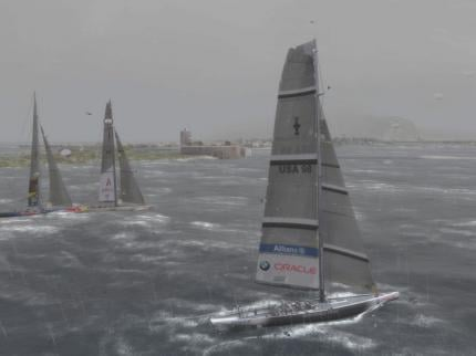 Virtual Skipper 5: America's Cup 32nd
