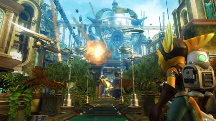 Ratchet & Clank Future: E3-Demo im Video