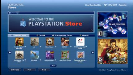 Playstation Store: Großes Update in den USA