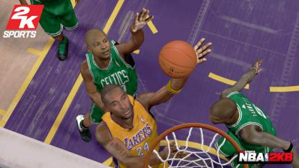 NBA 2K8: Let´s play basketball(NBA 2k8) - Leser-Test von BASE_Jumper502
