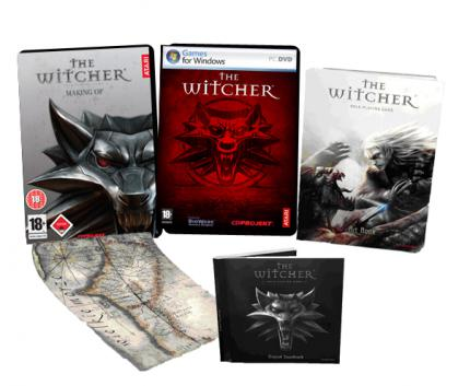 The Witcher: Inhalt der Limited Edition