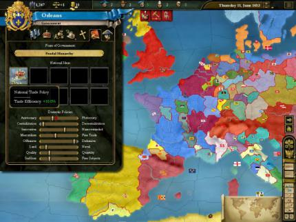 Europa Universalis 3: NA: Neues Update zum Strategie-Addon