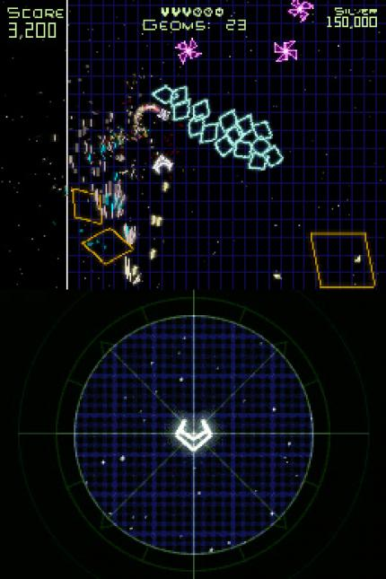 Geometry Wars: Galaxies - Geometry Wars: Galaxies - Achtung Viereck! - Leser-Test von Celon