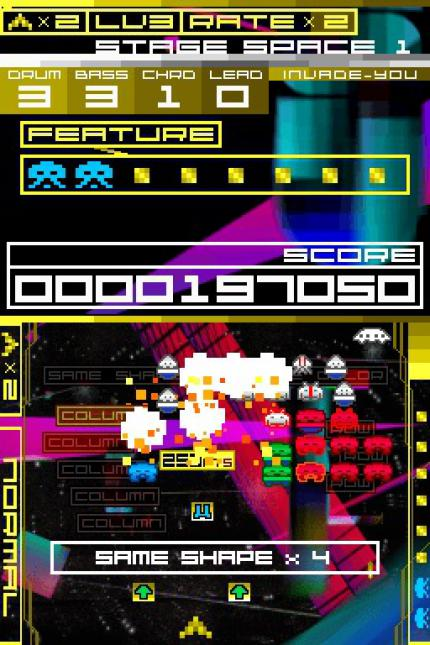 Space Invaders Extreme: Ingamematerial und Videointerview
