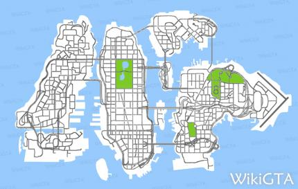 GTA IV: Online-Karte zu Liberty City