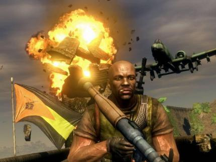 Mercenaries 2: World in Flames: EA verursacht Chaos mit Gratis-Benzin