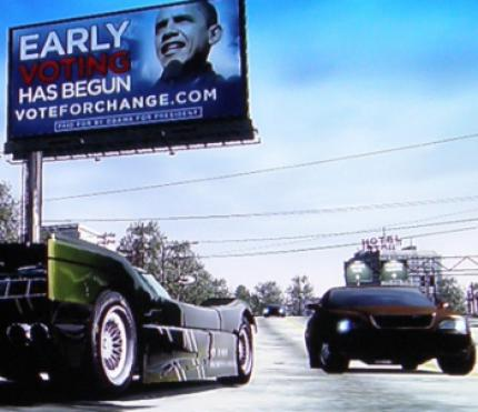 Burnout Paradise: Barack Obama in der Konsole