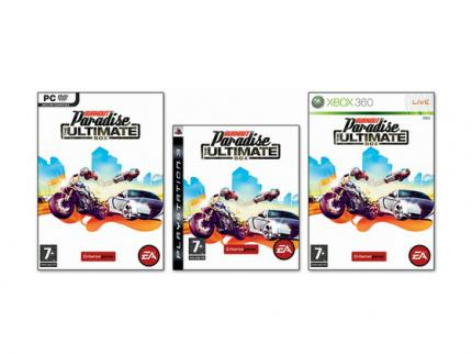 Burnout Paradise Ultimate: Cover enthüllt