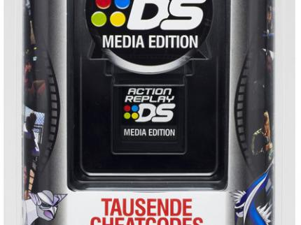 Action Replay MAX Media Edition: Cheaten auf dem NDS