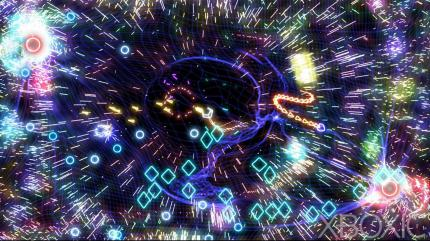Geometry Wars 2: Titelsong als Remix-Version