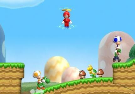 "New Super Mario Bros. Wii: mit ""Demo Play"" Funktion"