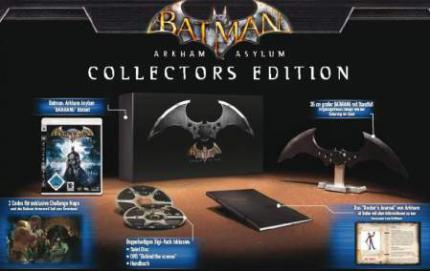 Batman: Arkham Asylum: Informationen zur Collectors Edition