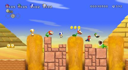 "New Super Mario Bros.: Details zum ""Demo Play"" Feature"