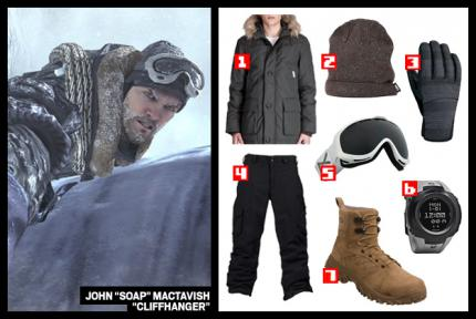 "Call of Duty: Modern Warfare 2: John ""Soap"" Mactavishs Outfit für 834€"