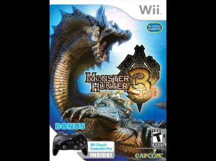 Monster Hunter 3: US-Bundle mit Classic Controller Pro