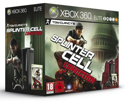 Splinter Cell: Conviction: Xbox 360-Bundle angekündigt