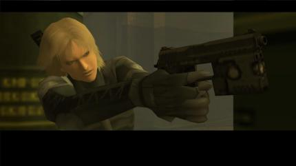 HD-Screenshot aus MGS2