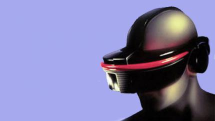 Der Prototyp des SEGA VR-Headsets