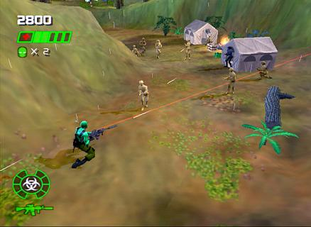Army Men Green Rogue im Gamezone-Test