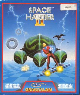 Space Harrier 2: Nocheimal Harry - Leser-Test von RAMS-es