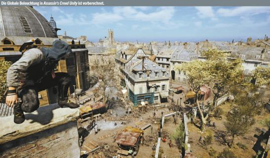 Die Globale Beleuchtung in Assassin's Creed Unity ist vorberechnet.