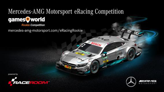 Mercedes-AMG Motorsport eRacing Gamesworld Rookie Competition 2017 - Nehmt am Memory-Gewinspiel teil und schnappt euch Ticktets zum eRacing-Finale in Hockenheim!