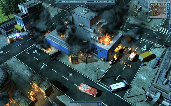 Screenshots aus Emergency 2012
