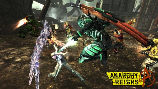 Anarchy Reigns bietet rasante Multiplayer-Action. (1)