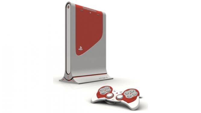 Fan-Design der Playstation 4