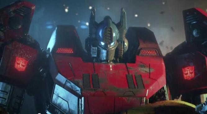 In Transformers: Fall of Cybertron sind die Dinobots los.