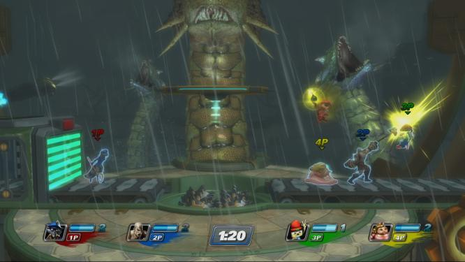 Playstation All-Stars: Battle Royale wird häufig mit Super Smash Bros. verglichen. (3)