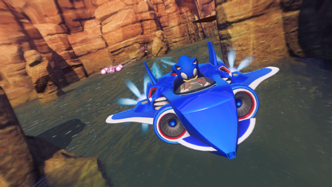 In Sonic & All-Stars Racing Transformed im neuen Trailer.
