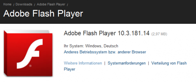 flash player update firefox