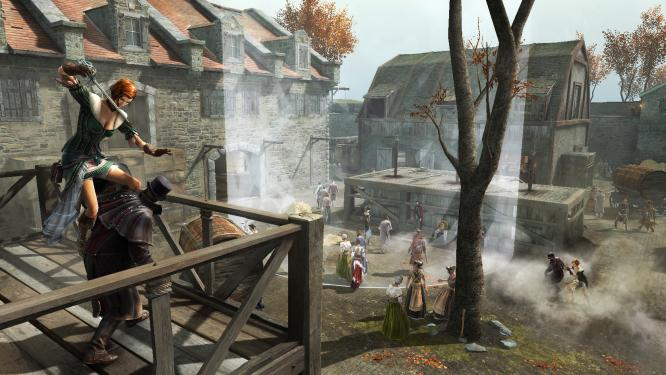 Assassin's Creed 3 auf neuen Multiplayer-Screenshots. (2)