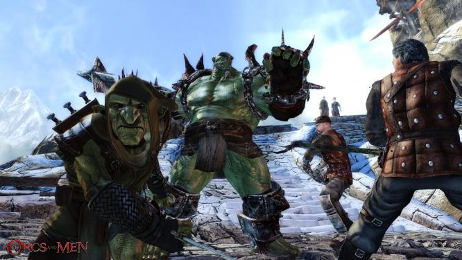Die Launch-Trailer zu Of Orcs and Men. (9)