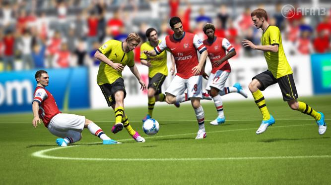 'First Touch Ball Control' im neuen Video zu FIFA 13. (3)