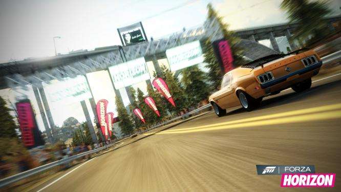 Forza Horizon in mehreren Gameplay-Videos. (1)
