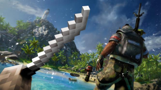 Minecraft meets Far Cry 3. (3)