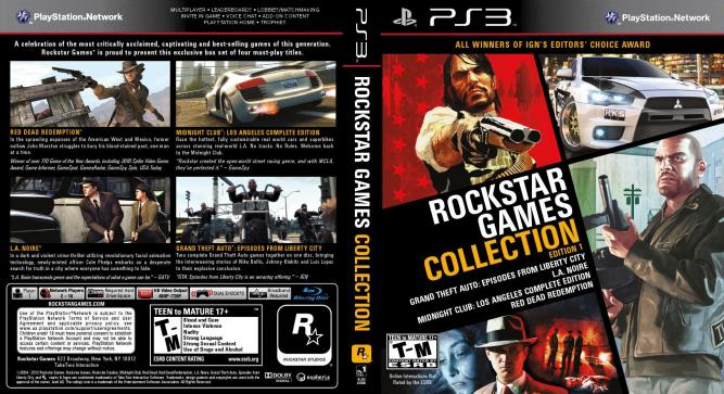 Die Rockstar Games Collection Edition 1.