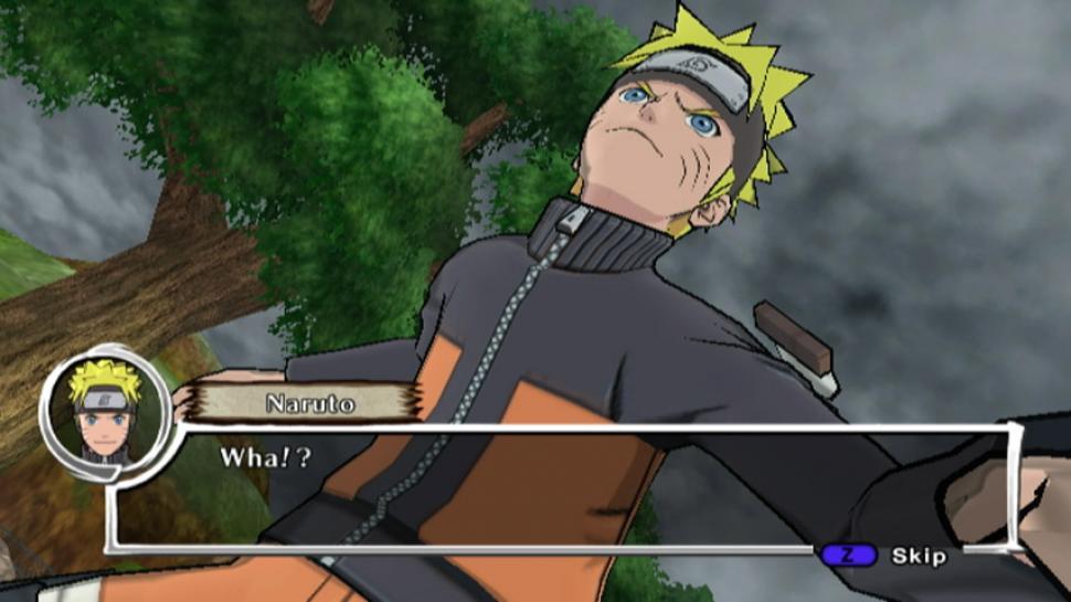 Naruto Dragon Blade Chronicles Exklusive Anime Klopperei Auf Der Wii