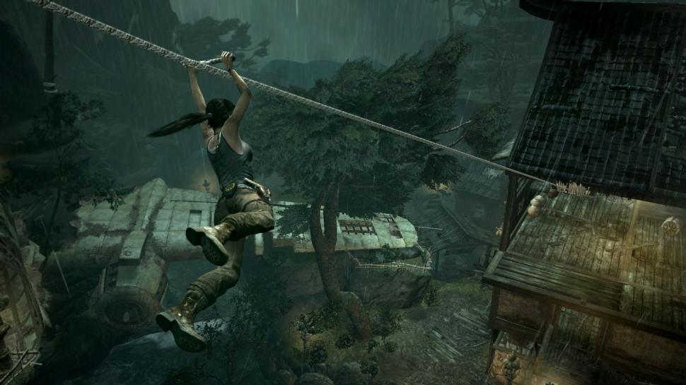 Das Upgrade-System von Tomb Raider im Video. (1)