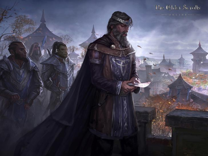 The Elder Scrolls Online Artwork Zu Den Rüstungsentwürfen Und Ein