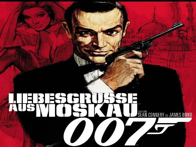 James Bond Moskau