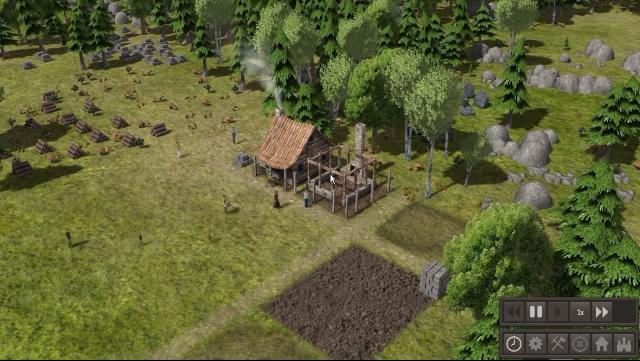 Mittelalter Aufbauspiel