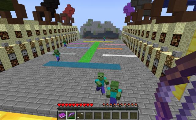 играть в майнкрафт игру зомби блоки бесплатно и онлайн игры minecraft #10