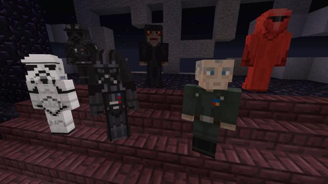 minecraft star wars spiele