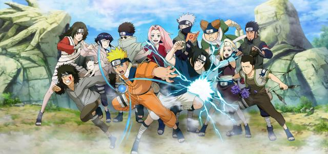 Naruto Online Kämpft Seite An Seite