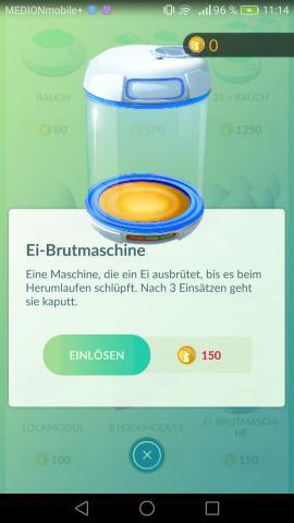 pokemon go eier wegwerfen