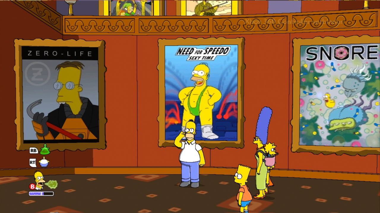 the simpsons spiel